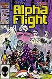 Alpha FLIGHT #33 (1st Appearance LADY DEATHSTRIKE)
