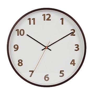 Aoligei Barrido de Silencio Digital Segunda Pared Reloj tamaño: 12 Pulgadas El Reloj de Pared Perfecto para una Oficina, salón de Clases, Dormitorio o baño: ...