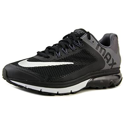 los angeles 5a552 1f176 Nike Mens Air Max Excellerate 2, BLACKMETALLIC SILVER-DARK GREY-PURE