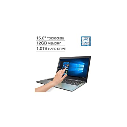 "2018 Flagship Lenovo Ideapad 320 15.6"" HD WLED Touchscreen Business Laptop, Intel Quad-"