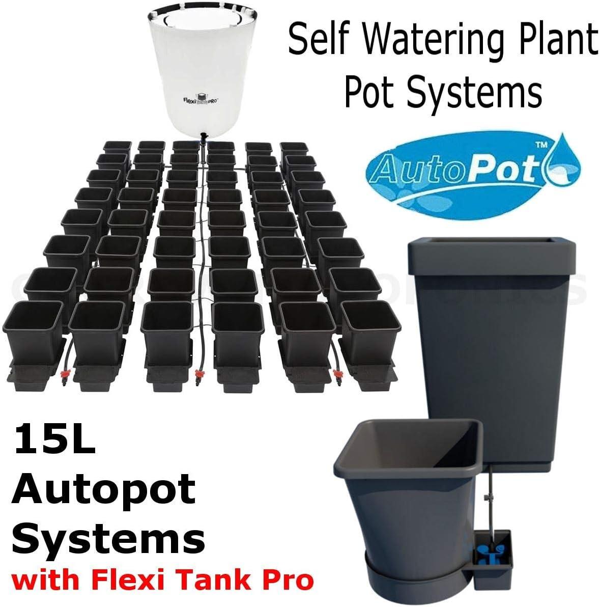 AUTO POT 8 POT  15L GROW SYSTEM SELF FEEDING SYSTEM 1OOL TANK HYDROPONICS
