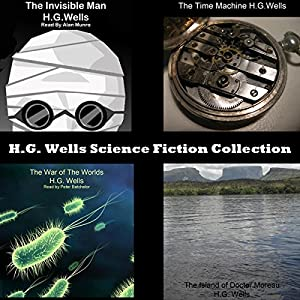 H.G. Wells Science Fiction Collection Audiobook