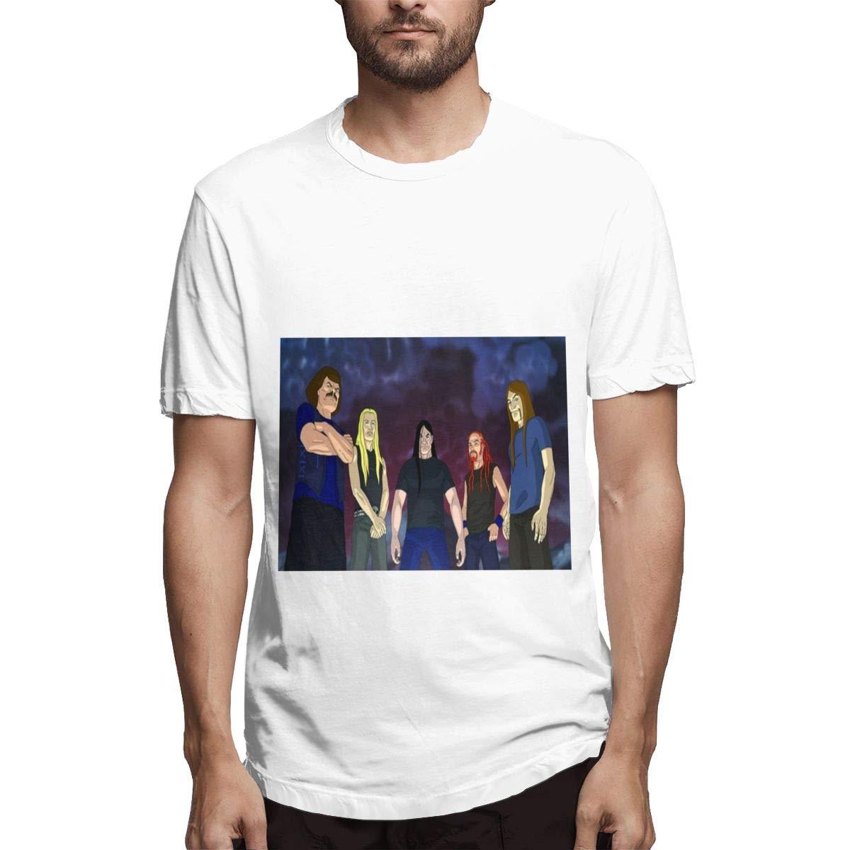 Lihehen S Dethklok Round Neck T Shirts
