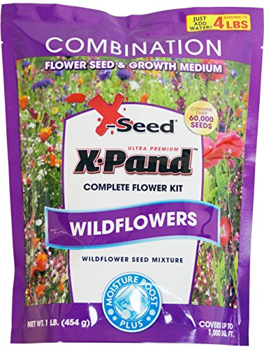 Filled Flower (X-Seed X-Pand Ultra Wildflower Combination Seed Mix, 1-Pound)