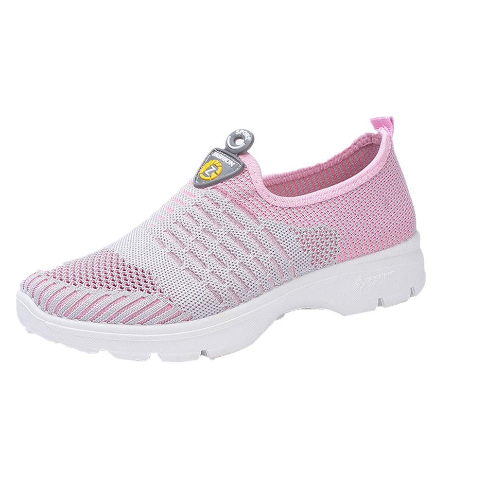Bestow Juego de Zapatillas de Malla en Forma de pies Zapatos de Mujer Bailando Soft Running Shoes Gym Shoes: Amazon.es: Ropa y accesorios