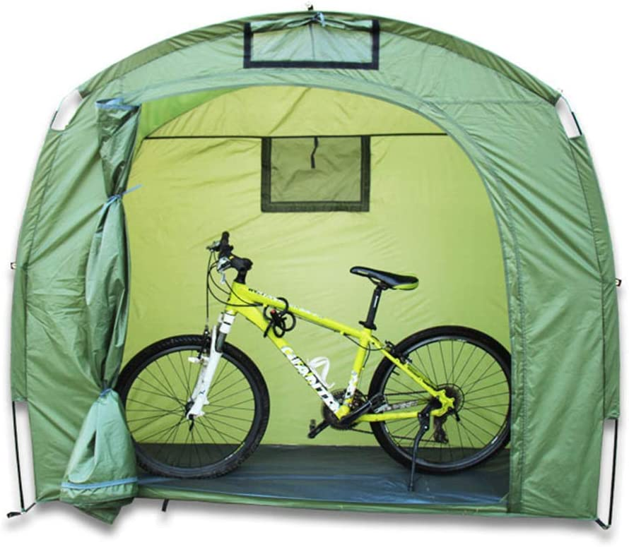 XIONGGG Bicycle Cycle Tent Waterproof Bike Storage Shed Tent for Outdoors Camping Garden Patio Pool Storage Shed Cover
