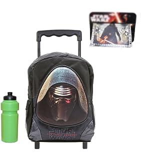 06767a2e27 Star Wars Rolling Backpack with Bonus Wallet   Bottle