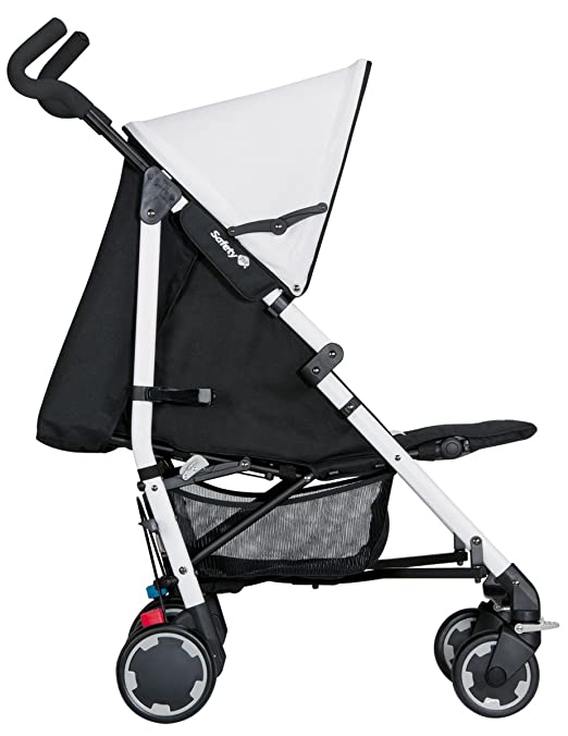 Amazon.com : Safety 1st CompaCity Collection 2014 Adjustable Pushchair - Black/White : Baby