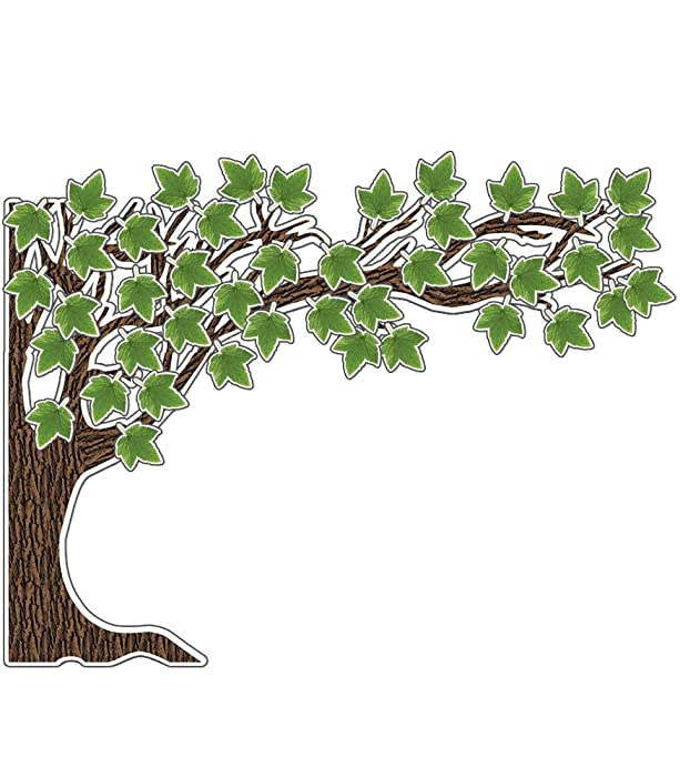 Top 8 Teaching Tree Large Embossed Classroom Decor Sheets