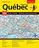 Quebec Road Atlas (Mapart's Provincial Atlas) (English & French Edition) (English and French Edition)