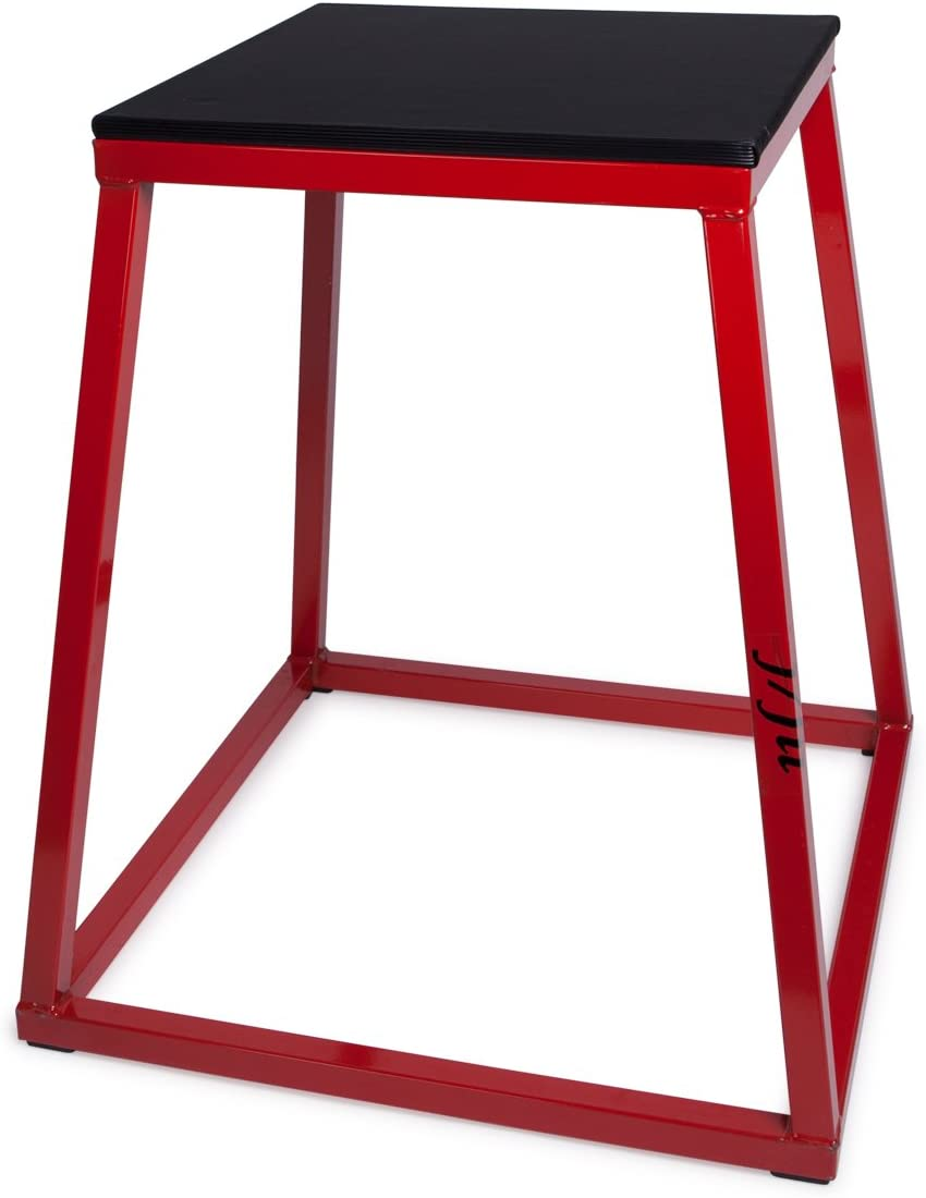 "j/fit Plyometric Jump Boxes - Singles in Heights of 12"", 18"", 24"" and Sets up to 30"""
