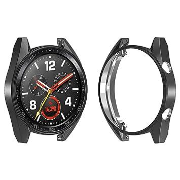 Wugongyan - Carcasa de TPU para Huawei Watch GT, Resistente ...