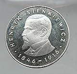 1977 POLAND Coin Quo Vadis Writer Henryk Sienkiewicz AR Polish Coin i63540