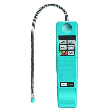 KUNSE HLD-100 halógeno refrigerante Gas Fuga Detector Fugas R134a HVAC sensibilidad