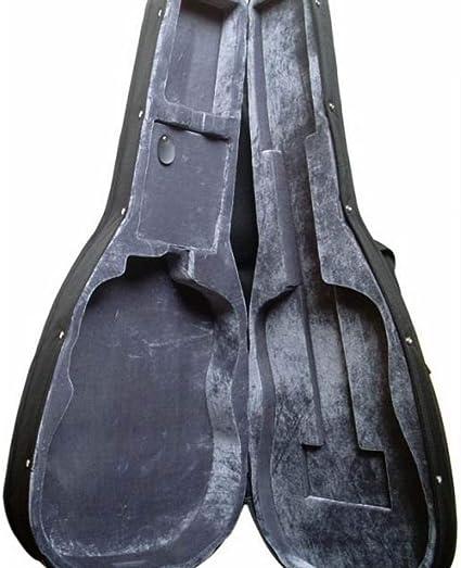 BHCW Estuche Rígido De Guitarra Para Guitarra Acústica O Guitarra Eléctrica De 41 Pulgadas: Amazon.es: Instrumentos musicales