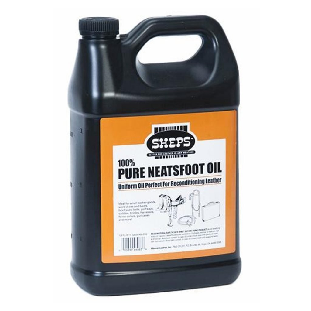 1 Gallon Sheps 100% Pure Neatsfoot Oil by Sheps