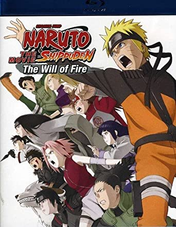 Amazon com: Naruto Shippuden the Movie: The Will of Fire