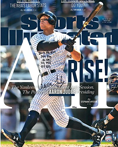Aaron Judge New York Yankees Autographed 16