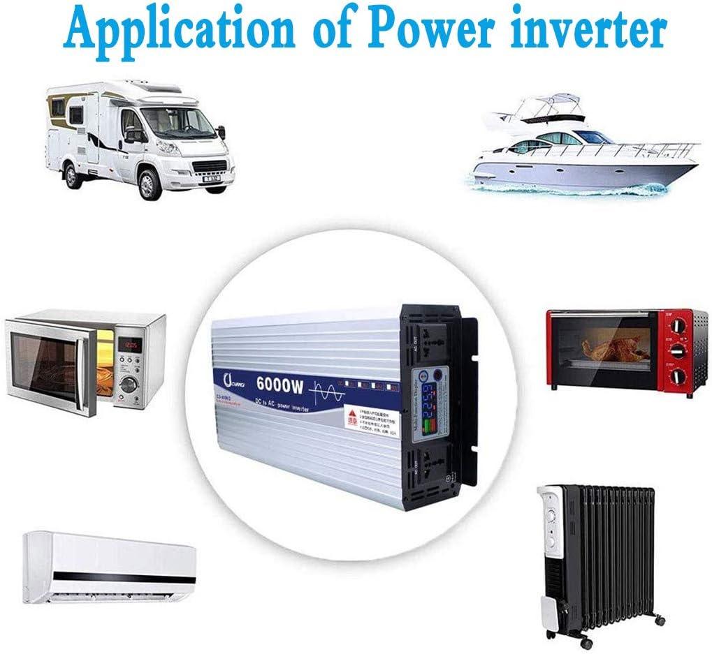 24V 72V A CA 220-230V Potenza Inverter Ad Alta Efficienza Potenza 600W-6000W,1000w,12V 48V WGE Inverter A Onda Sinusoidale Pura DC 12V 60V