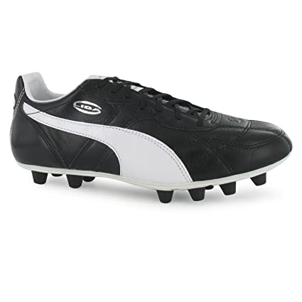 Puma Liga Classic FG Firm Ground Football Boots Mens Black White Soccer  Cleats (UK6 cdcb83423