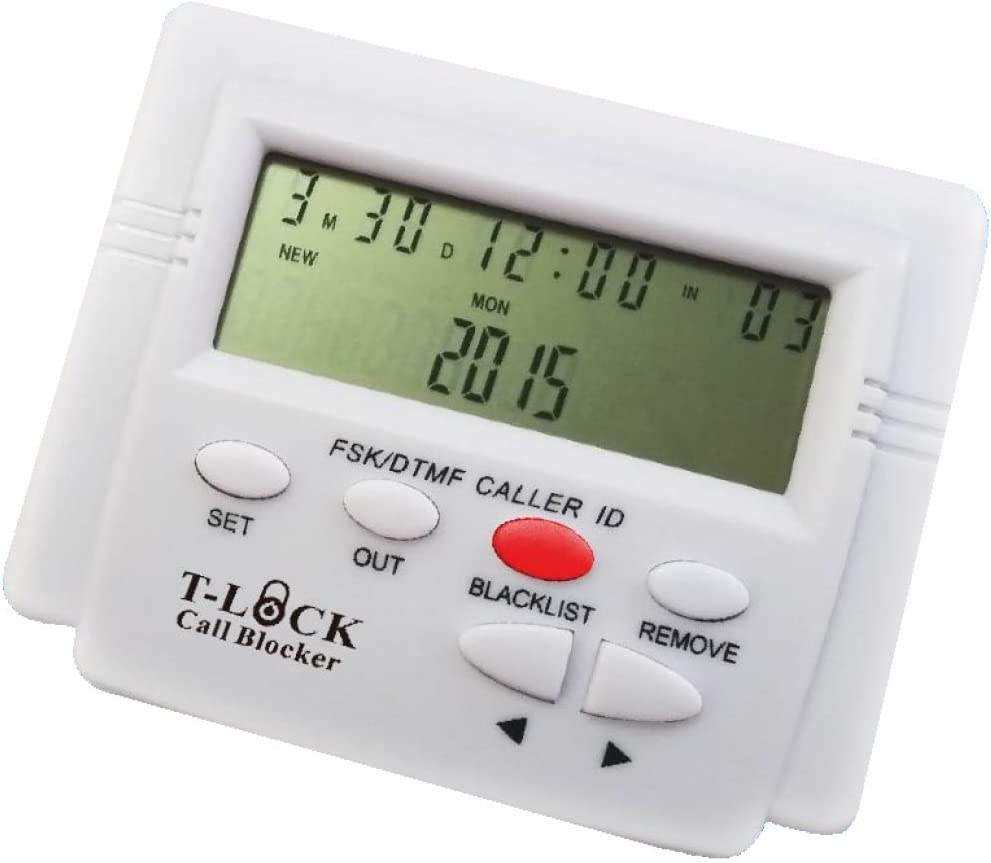 T-lock Incoming PRO Call Blocker with LCD Display and Blacklist: Electronics