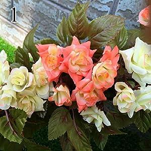 FYYDNZA 1 Stks Herfst Simulatie Rose Wijnstok Hoogwaardige Nep Bloemen Gekruld Rose Rose Bloem Tuindecoratie 45