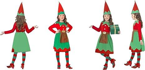Disfraz de Papá Noel con Texto en inglés Fancy Dress World ...