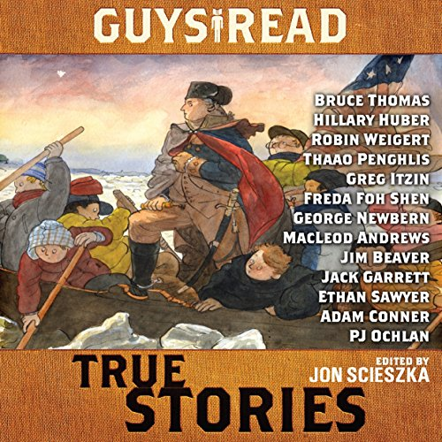 Book Cover: Guys read : true stories
