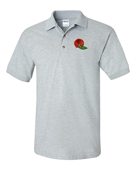 Orange 2 Custom Personalized Embroidery Embroidered Golf Polo Shirt