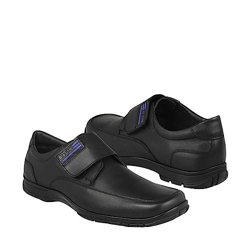 2fdda8b5 BLASITO Zapato Escolar para niño Piel Negro 17EVENTIUNO: Amazon.com ...