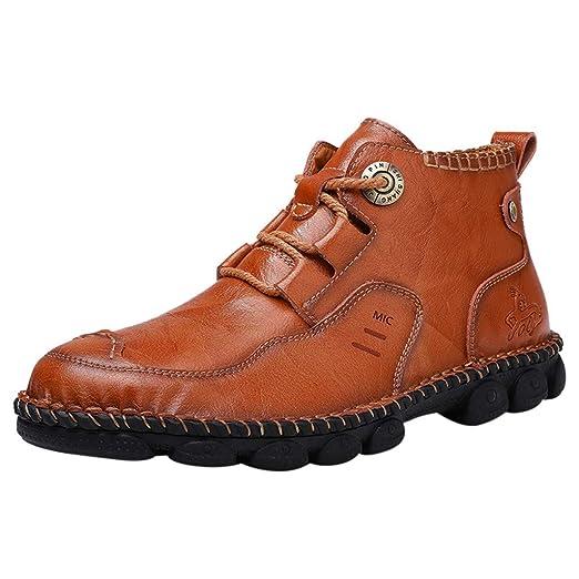 Zapatos Hombre,Hombres zapatos causales de encaje hasta