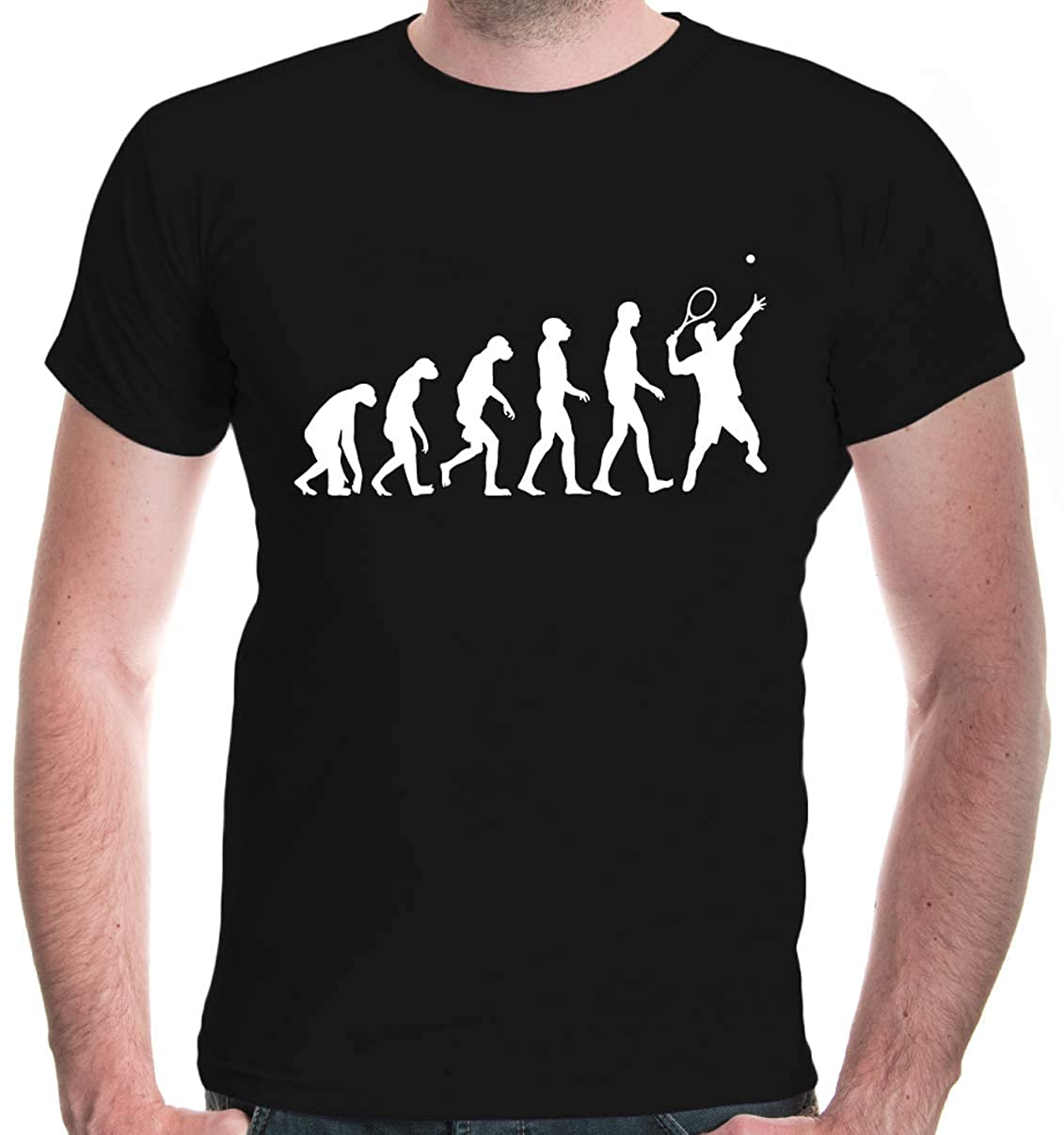 Buxsbaum S Tshirt The Evolution Of Tennis