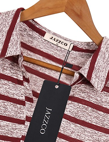 0da26fe3 Jazzco Business Casual Clothes for Women, Pullover Knitted Soft Polo  Clothing Boutique Vintage V Collared