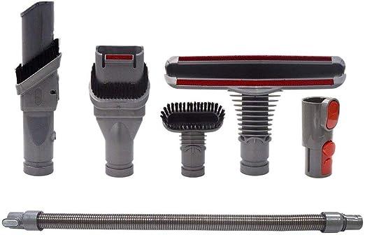 Louu - Kit de Repuesto para aspiradora Dyson V8 V7 V10 con aspiradora Buerste Duese Flush Manguera de Repuesto para Dyson V6: Amazon.es: Hogar