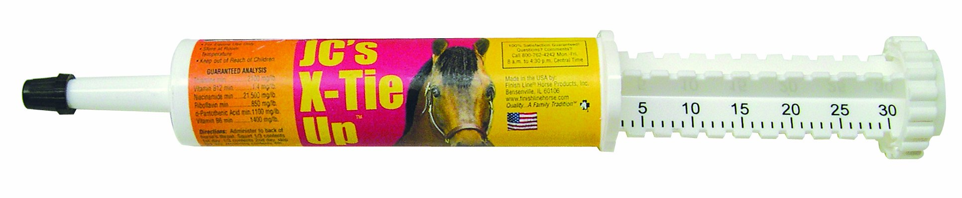 Finish Line Horse Products J.C' S X Tie Up (Syringe) by Finish Line Horse Products
