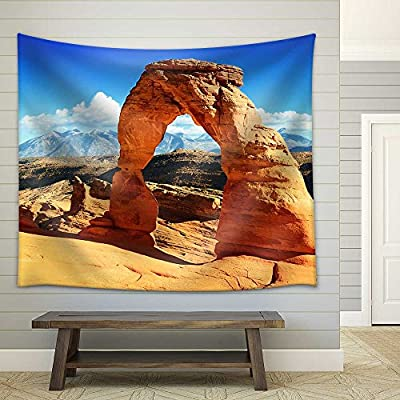 it is good, Gorgeous Expert Craftsmanship, Sunset at Famous Delicate Arch Utah USA Fabric Wall