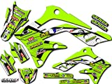 Senge Graphics 2003-2012 Kawasaki KX 125/250 (2-STROKE), Podium Green Graphics Kit