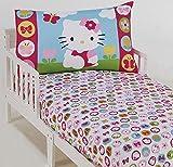 Hello Kitty 2-Piece Toddler Sheet Set