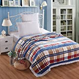 Thick double super soft double winter blankets,Fashion line,150*200