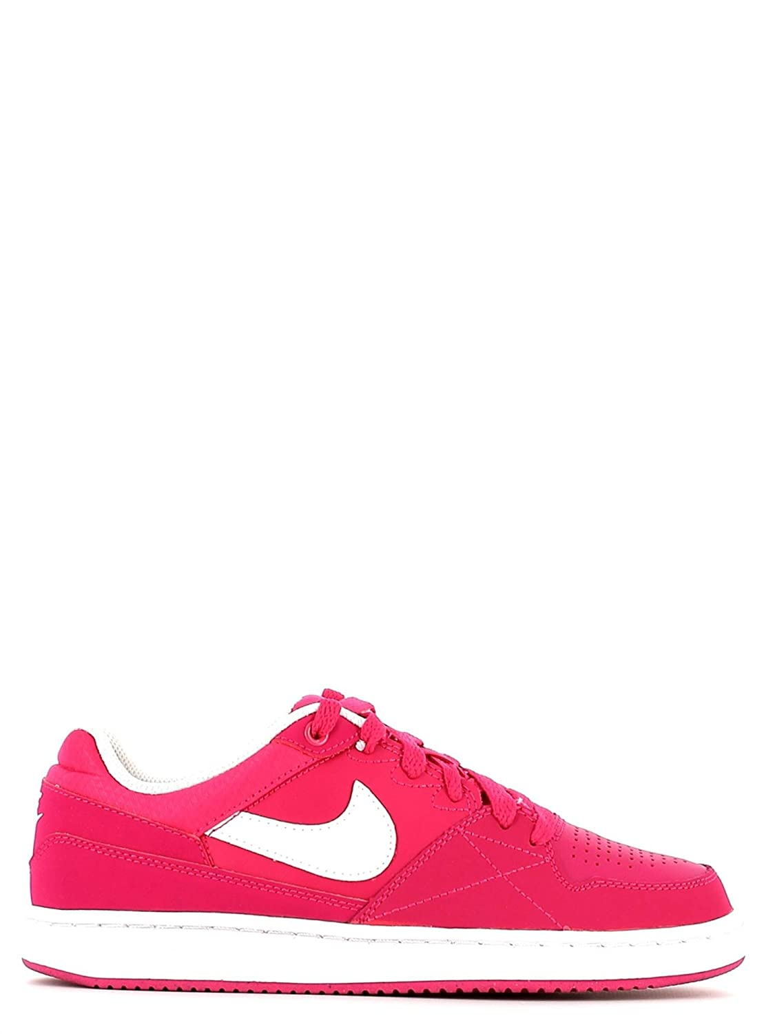 NIKE Chaussures de Sport Priorité Femmes Priorité Sport Low GS Cuir Fuxia 653688 424ec5