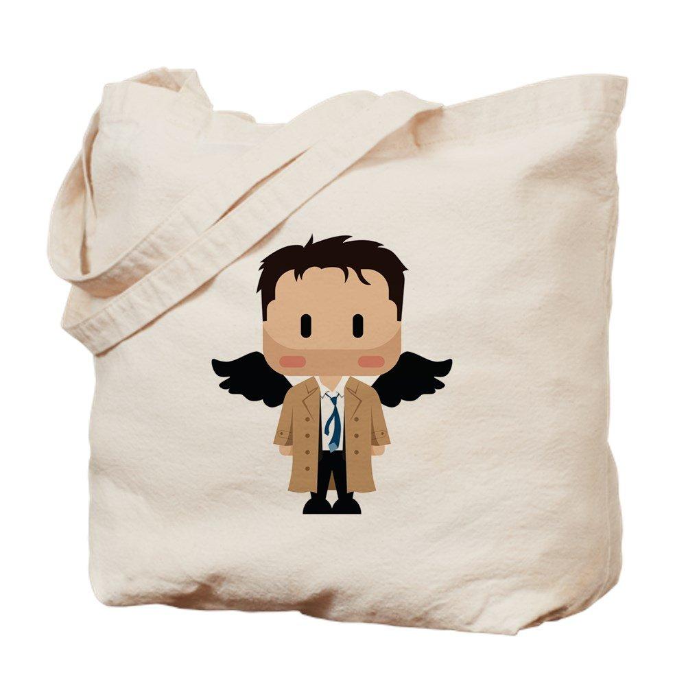 CafePress – Castiel Cutie – ナチュラルキャンバストートバッグ、布ショッピングバッグ B073QV8H17