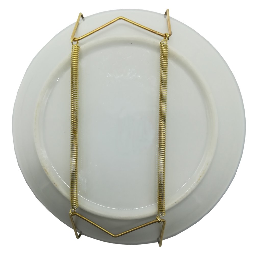 Xinlinke Lot 5 Small Invisible Wall Plate Hanger Decorative Dish Display 6 Inch