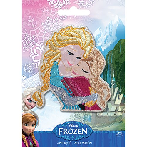 Simplicity 1931102001 Disney Frozen Sisters - On Princess Iron Disney