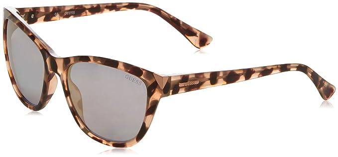Guess Damen Sonnenbrille GU7398, Braun (Havana), 55