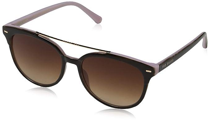 Ted Baker Solene Gafas de Sol, Rosa (Tort Pink/Brown), 54.0 ...