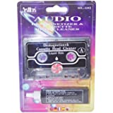 Audio Cassette Head Cleaner Cleaning Tape With Fluid Demagnetizer