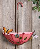 The Lakeside Collection Hanging Umbrella Planters