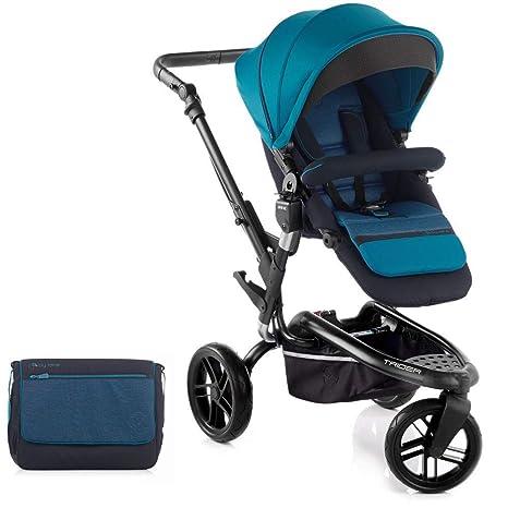 Jane paseo Trider todoterreno todo terreno carrito con accesorios a juego, color azul