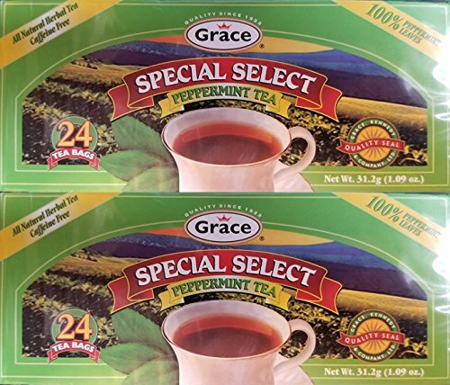 (GRACE PEPPERMINT TEA 24 BAGS 2PK (48 BAGS))