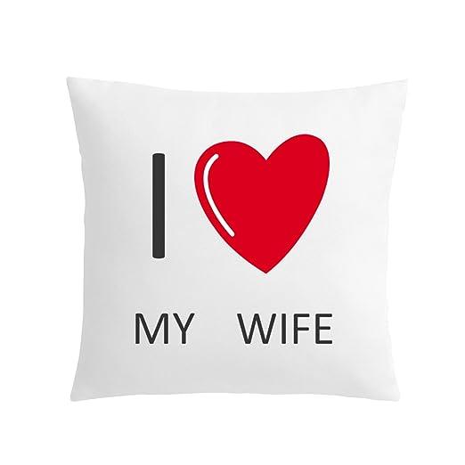 Dungri® Regalo para esposa dice I Love You mejor calidad ...